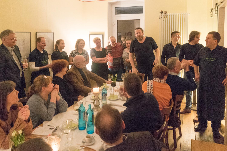 Gäste kochen für Gäste @ Gräfes Wein & fein